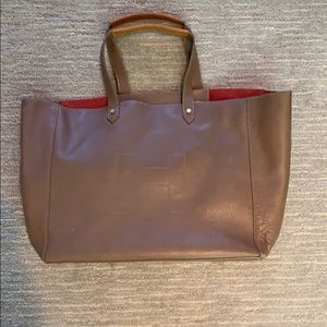 Hunter Leather Ashleigh Tote Bag